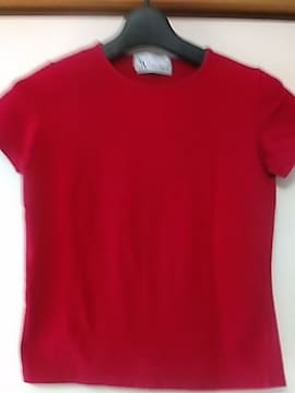 VIVI ITALIA 赤Tシャツ らくらく便180円