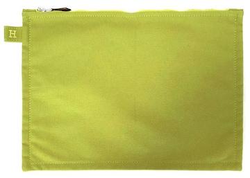未使用正規エルメスボラボラポーチ28中ライトグリーン緑