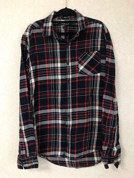 Forever21 men'sチェックシャツ 新品