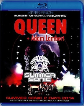Queen,Adam Lambert クィーン2014 サマソニ大阪&千葉(Blu-Ray)