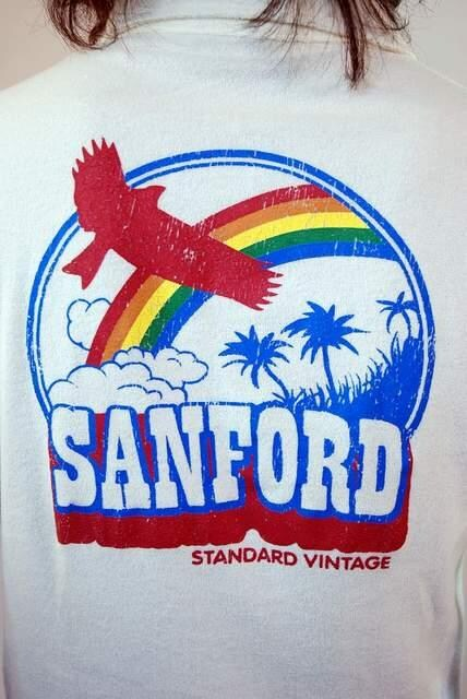 SANFORD(サンフォード)5分袖ポロシャツ/M アメカジサーフ系 < ブランドの