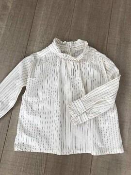 韓国子供服SHURRCCA 5美品めちゃかわ長袖シャツ女の子