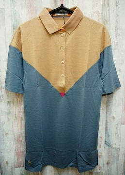 LACOSTE ラコステ シルクピケ半袖配色ポロシャツ S/VM6
