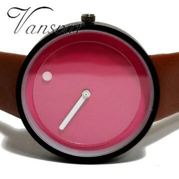 新品・未使用★Vansvar【男女OK】POPで可愛らしい腕時計