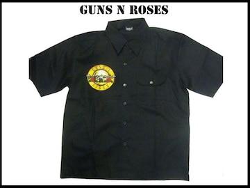 ガンズー&ローゼスバンド(M)Guns N Roses半そでシャツ