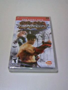 レア 新品 PSP 鉄拳 DARK RESURRECTION (海外版) / 対戦 格闘ゲーム