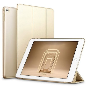 iPad Mini4 ケース クリア ゴールド