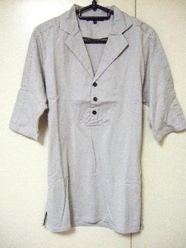 ★SHELLAC★シェラック★五分袖★ポロシャツ★