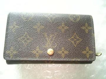 本物◆ ヴィトン/Louis Vuitton *L字型ファスナー財布*
