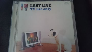 19「LAST LIVE TV use only」DVD