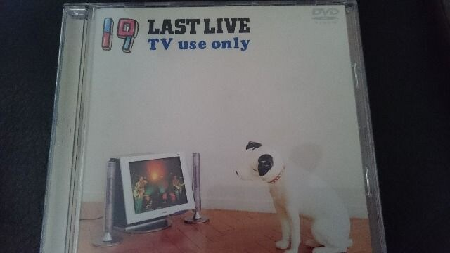 19「LAST LIVE TV use only」DVD  < タレントグッズの