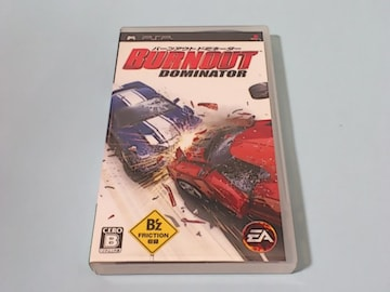 PSPゲームソフト バーンアウト ドミネーター