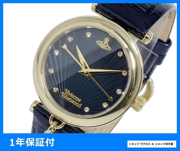 新品 即買■ヴィヴィアン ウエストウッド女性腕時計 VV108BKBK