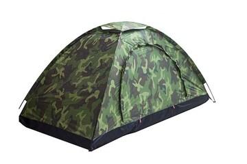 テント 一人用 コンパクト 迷彩柄 キャンプテント