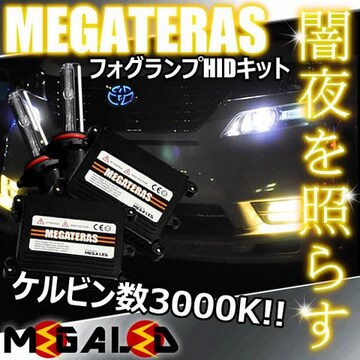 Mオク】ワゴンR/MH11/21系/フォグランプHIDキット/H8/3000K