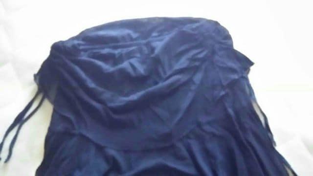 フリルミニ丈スカート < 女性ファッションの