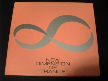DJ TOMO CD NEW DIMENSION OF TRANCE