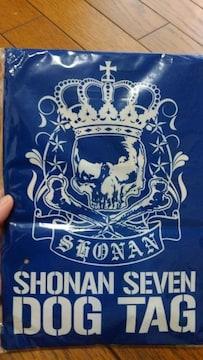 新品★雑誌付録「SHONANセブン ドッグタグ」スカル柄!!