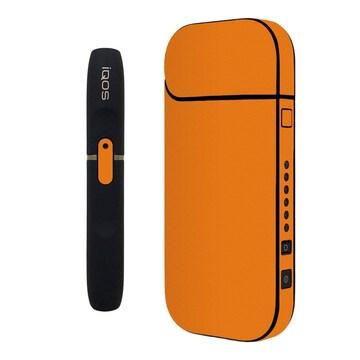 31色 iQOSステッカー ケース 全面 オレンジ