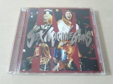SEX MACHINEGUNS CD「LIVE FIRE」初回盤ジャケ仕様★