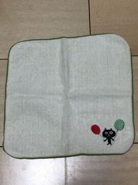 新品未使用★クロネコ ミニタオル