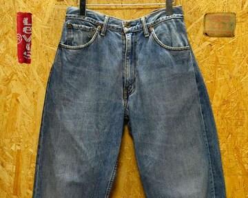 ◆廃盤◆リーバイス504ルーズストレート・W31(84cm)・股下76cm