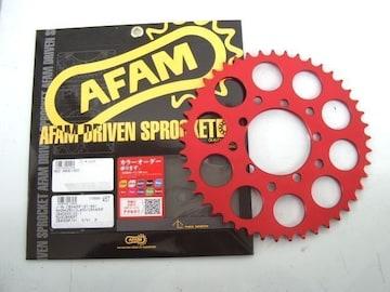 (7704R)CBX400FXAM旧AFAM赤カラースプロケット