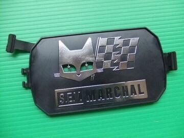 新品 マーシャル 角型 黒ライトカバー 旧車 当時物 フォグランプ