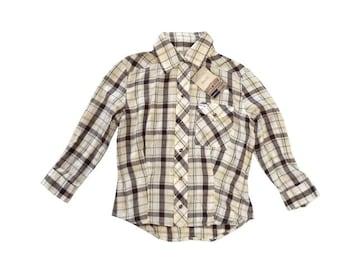 新品 定価7245円 マウジー moussy ネルシャツ シャツ ブラウス