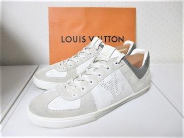 ☆LOUIS VUITTON ルイヴィトン LVロゴ スニーカー/メンズ/26.5cm☆ホワイト
