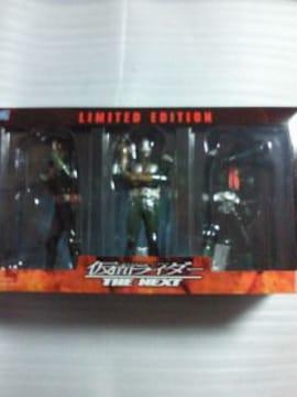仮面ライダー 1号 2号 V3 フィギュア ソフビ 3体 セット 箱 BOX ボックス