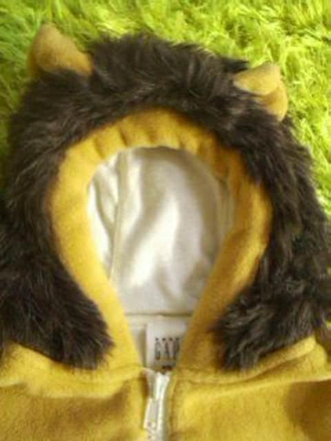 ●GAP● ライオン着ぐるみカバーオール 3-6ヶ月 美品