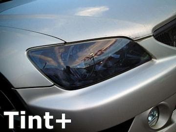 Tint+ 水洗→再利用OK アルテッツァ ヘッドライト スモークフィルム
