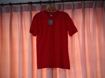 C,JのTシャツ(M)赤 新品タグ付き!。
