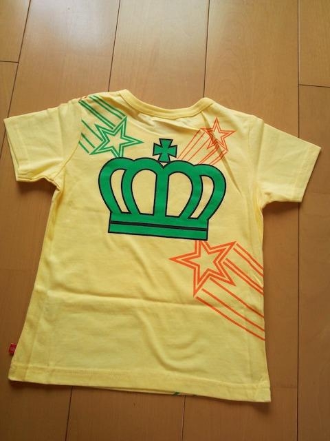 新品スターTシャツ110黄ベビドBABYDOLLベビードール < ブランドの
