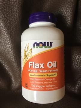 Flax Oil オーガニック フラックスオイル 1000mg 120粒 亜麻仁