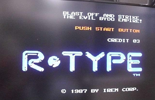 R-Type カセットのみ  < ゲーム本体/ソフトの
