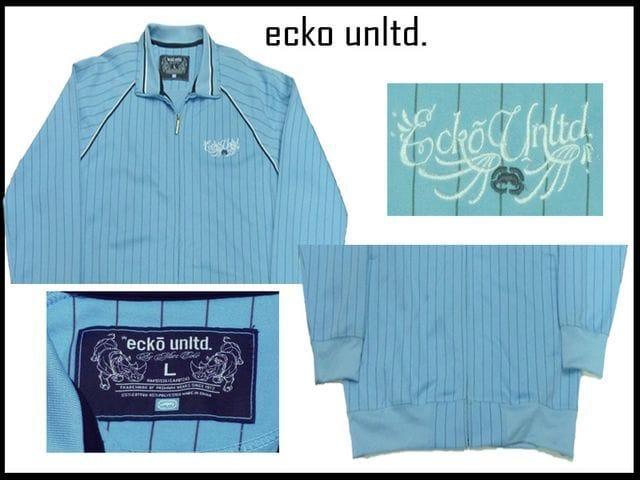 新品ECKOUNLIMITEDトラックジャケット ビッグサイズオヴァーサイズ オールドスクールB系 < ブランドの