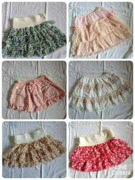 春夏向けスカート6点セット