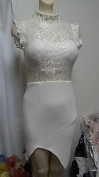(マ)JEWELS・白ナイトドレス