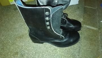 AP安全靴 日本ゴム�� 革製安全靴 未使用品 25.5cm
