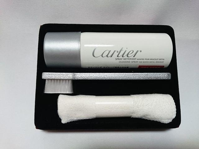 即決新古 非売品 Cartier カルティエ ブレスレット クリーニングキット 時計 ウォッチ < ブランドの