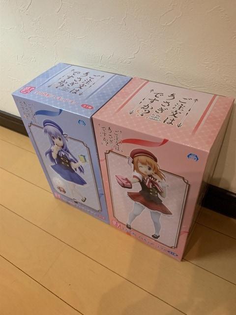 ご注文はうさぎですか? フィギュア ココア チノ 2体セット < アニメ/コミック/キャラクターの