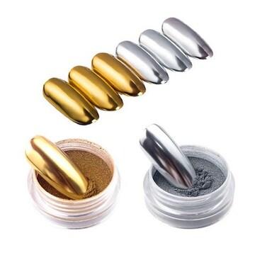 ミラーパウダー ( 2g ) ゴールド/シルバー