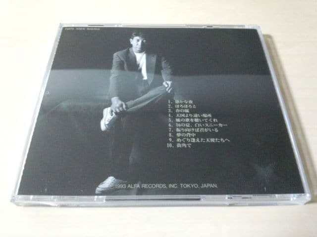 布施博CD「夢の背中」廃盤● < タレントグッズの