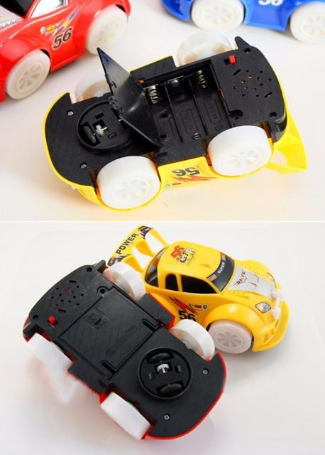 LED サウンド 電動自動車 スポーツカー 自動旋回 < ホビーの