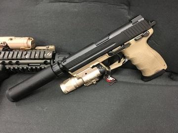 東京マルイ ガスブローバック HK45 タクティカル ライト 新品