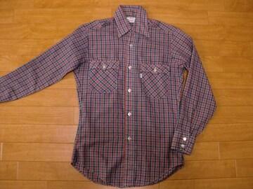 ヴィンテージ 70年代 リーバイス シャツ Sサイズ