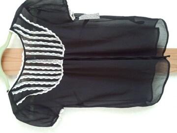 H&M 新品 ブラウス ブラック