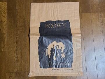 送料無料/BOOWY 激レアオフィシャル紙袋 非売品